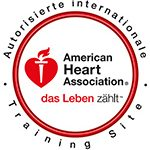 AHA Autorisierte internationale Training Site Logo